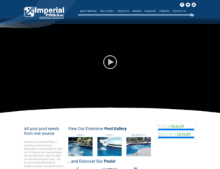 imperialpools.com screenshot