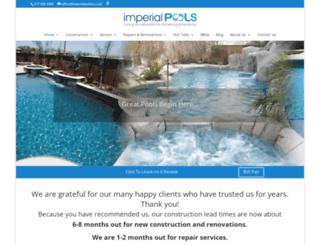 imperialpoolsinc.com screenshot