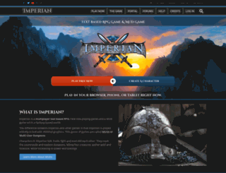 imperian.com screenshot
