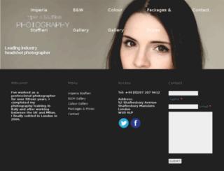 imperiastaffieriphotography.com screenshot
