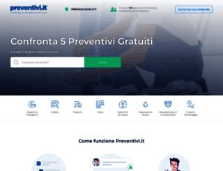 impermeabilizzazione.preventivi.it screenshot