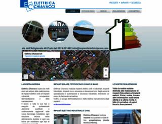 impiantielettriciprato.com screenshot