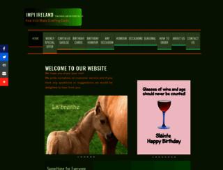 impiirelandgreetingcards.com screenshot