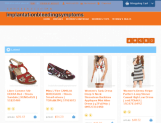 implantationbleedingsymptoms.net screenshot