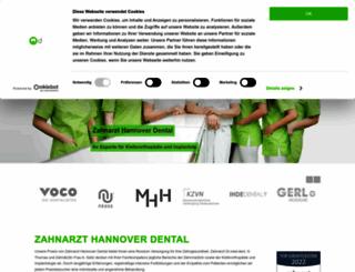 implantologie-hannover-nord.de screenshot