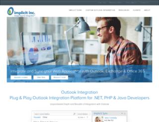 implicitsync.com screenshot