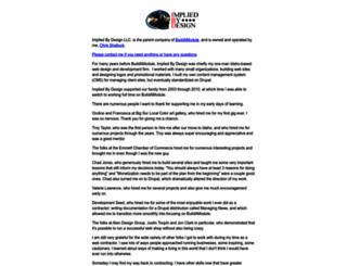impliedbydesign.com screenshot