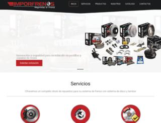 imporfrenos.com screenshot