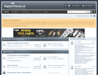 import-forum.nl screenshot