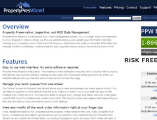 import.propertypreswizard.com screenshot