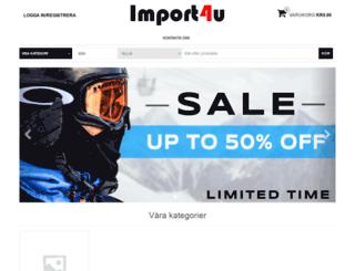 import4u.se screenshot