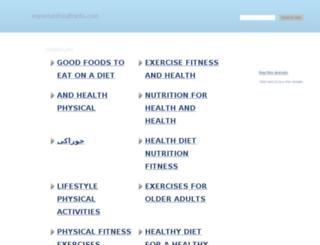 importanthealthinfo.com screenshot