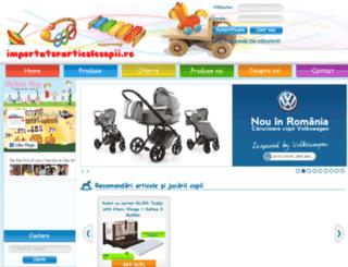 importatorarticolecopii.ro screenshot