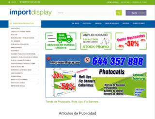 importdisplay.com screenshot