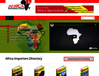importers.africa-business.com screenshot