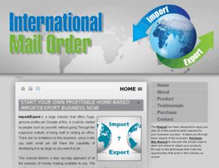 importexportbusiness.info screenshot