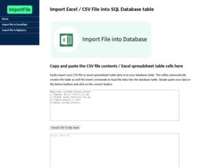importfile.com screenshot