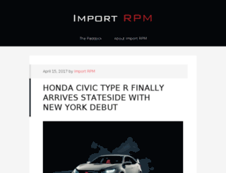 importrpm.com screenshot