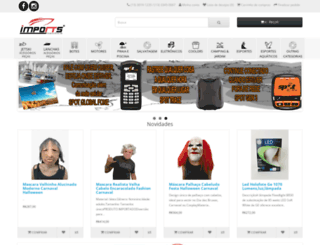 importsnautica.com.br screenshot