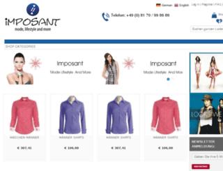 imposant.click-demo.com screenshot