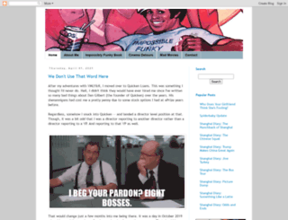impossiblefunky.blogspot.ca screenshot