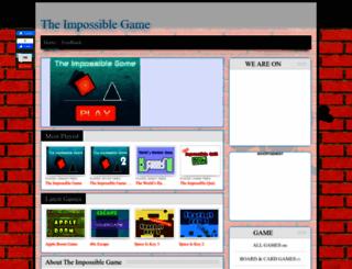 impossiblegame.org screenshot