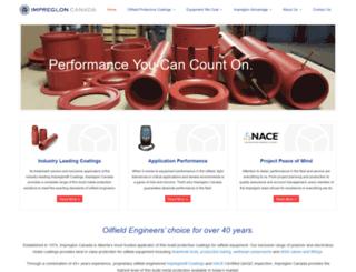 impreglon.com screenshot