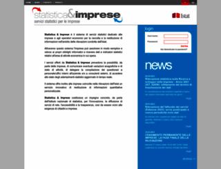 imprese.istat.it screenshot