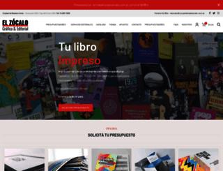 impresioneselzocalo.com.ar screenshot
