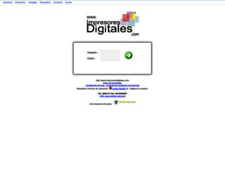 impresoresdigitales.com screenshot