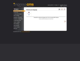 impresscms.eu screenshot