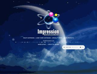 impression.co.za screenshot