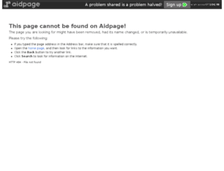impression08.aidpage.com screenshot