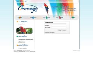 impressionjg.kanope.net screenshot
