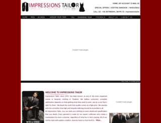 impressionstailor.com screenshot