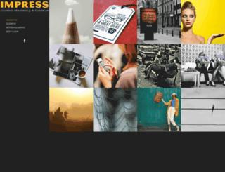 impressreklam.com screenshot