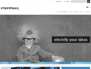 impressx.com screenshot