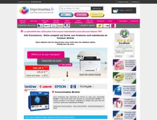 imprimantes.fr screenshot