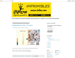 imprimiblesludus.blogspot.mx screenshot