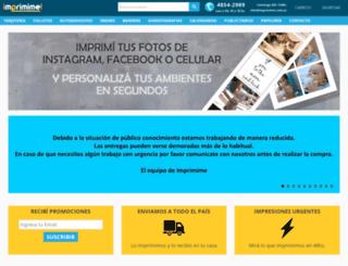 imprimime.com.ar screenshot