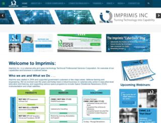 imprimis-inc.com screenshot