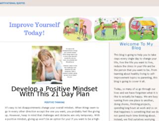improve-yourself-today.com screenshot