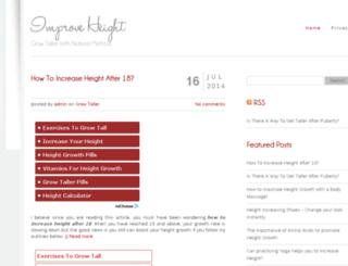 improveheight.org screenshot