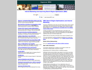 improveseo.com screenshot