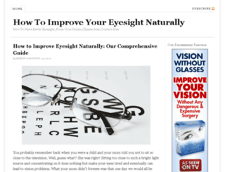 improveseyesight.com screenshot