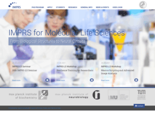 imprs-ls.de screenshot