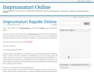 imprumuturionline.ro screenshot