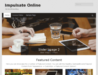 impulsateonline.com.ve screenshot