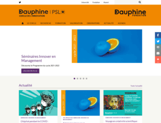 imri.dauphine.fr screenshot