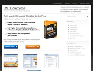 imscommerce.com screenshot